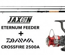 TEST – Jaxon Eternum Feeder + Daiwa CROSSFIRE 2500A